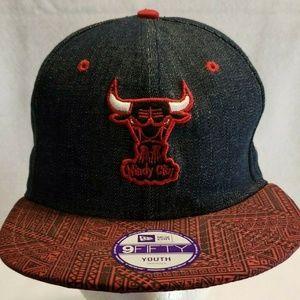 Chicago Bulls New Era Youth 9Fifty NBA Hat